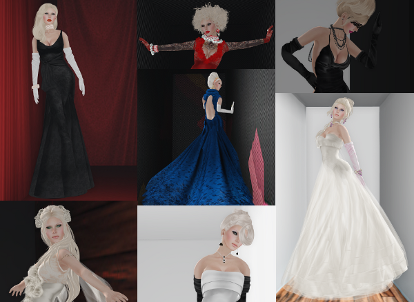 Gowns - Holiday Collage